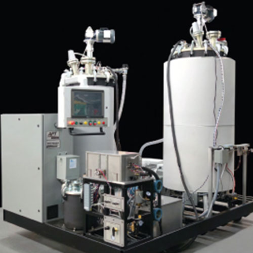 ECS-Series, High Vacuum Casting, Abrasive Epoxy, Meter-Mix Dispense Machine