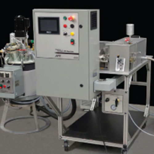 Wedge Metering and Mixing Equipment for Two-Component Resins