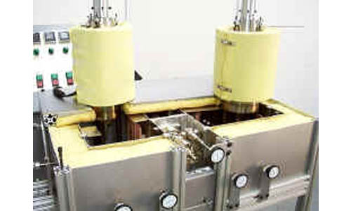 Two-Component RTM Injection Machine operates at up to 500-degrees-F.