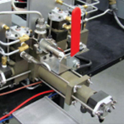 Dynamic Motor-Driven Mixer on Two-Component Dispenser