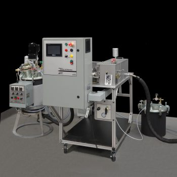 Wedge Meter-Mix Machine for abrasive and unfilled epoxies and urethanes
